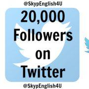 English on Twitter